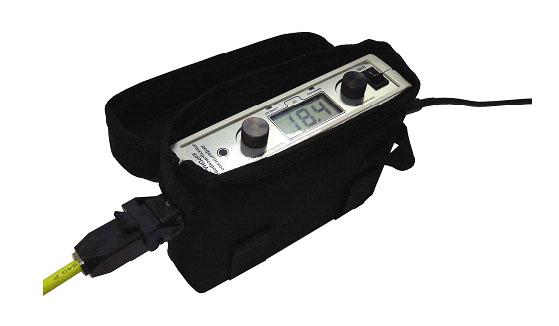 Блок контроля в сумке для переноски