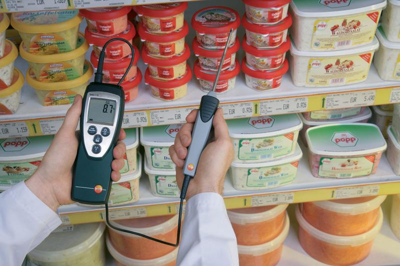 Инспекция работы холодильных прилавков на наличие достаточной холодильной мощности