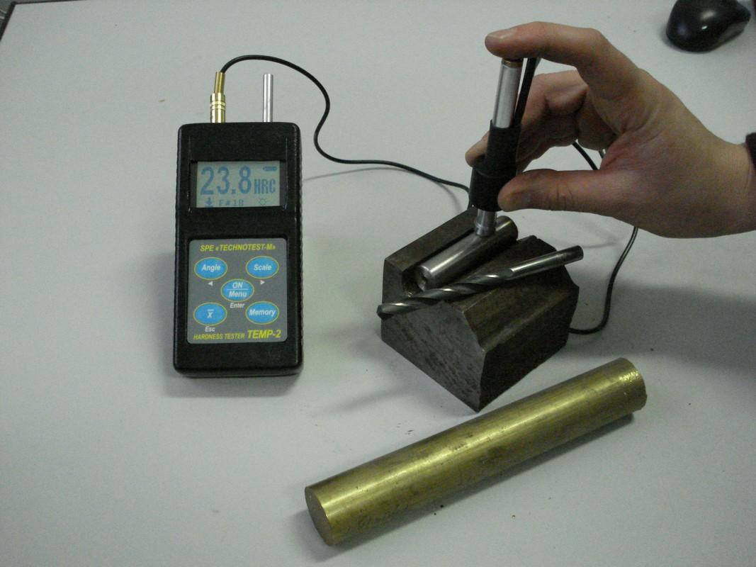Измерение цилиндрических изделий малого диаметра и веса