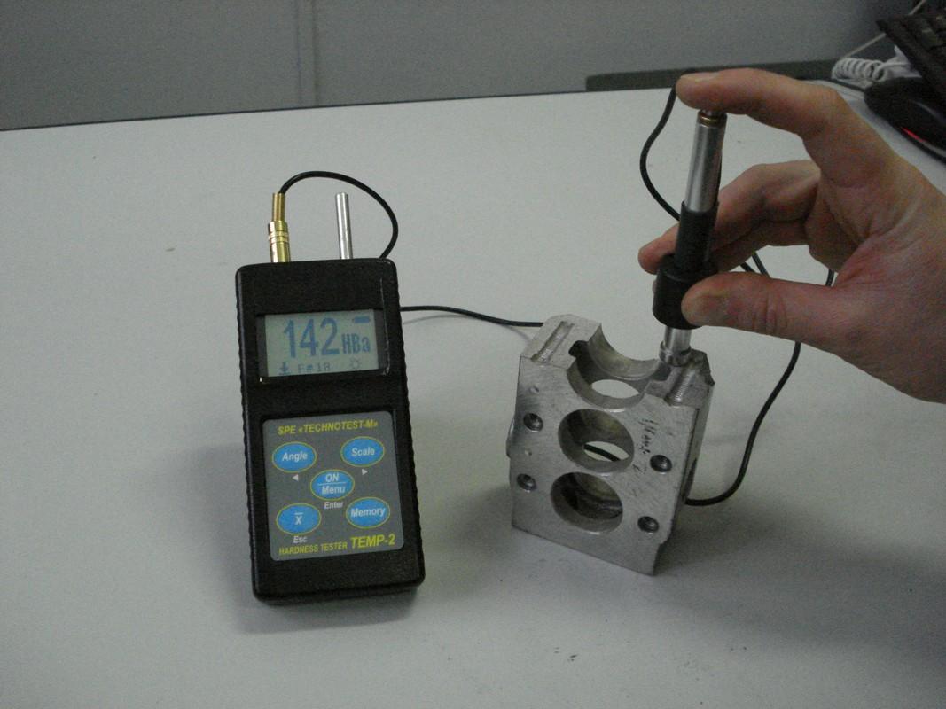 Измерение твердости изделий из алюминия