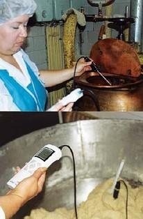 Пример использования прибора