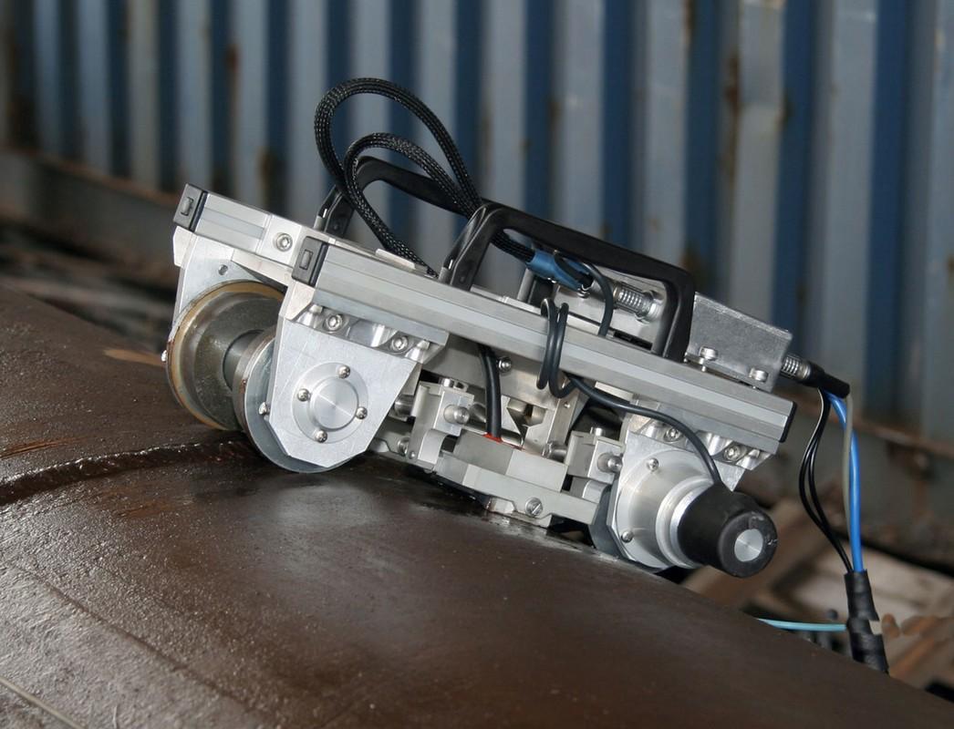 Дефектоскоп УСД60-8К в работе